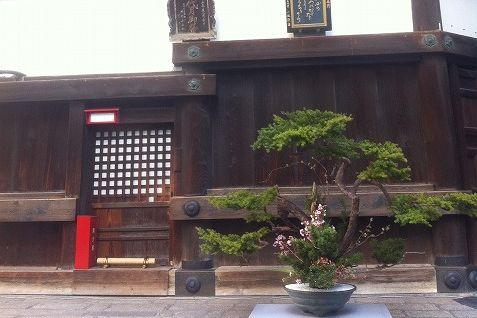 京都池坊見学