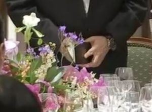 絢子さま晩餐会の花